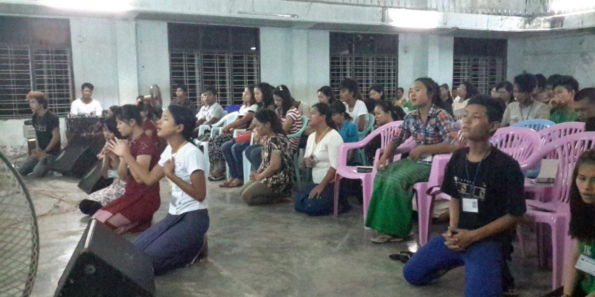 Summer Youth Camp in Yangon, Myanmar