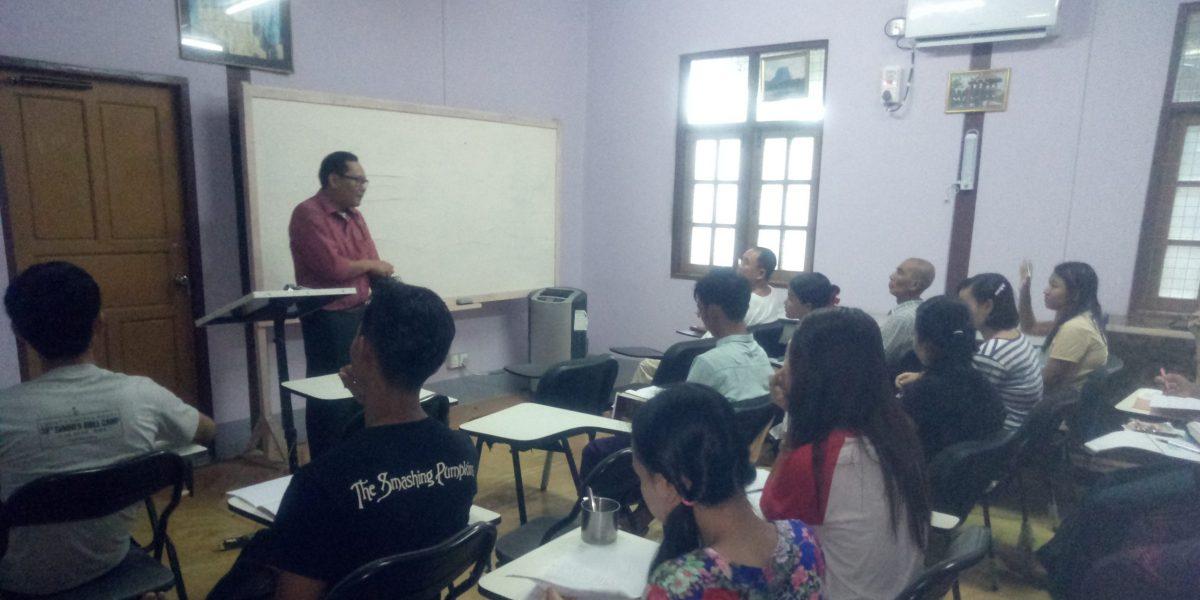 Discipling Youths in Myanmar